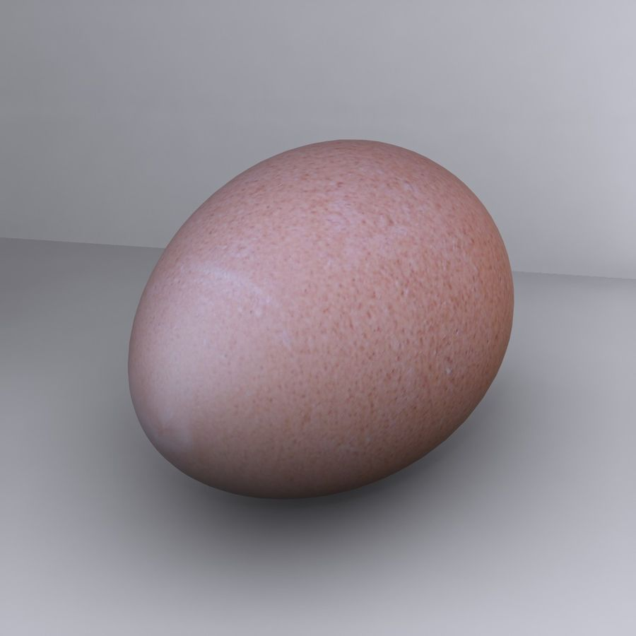 Egg Cup royalty-free 3d model - Preview no. 8
