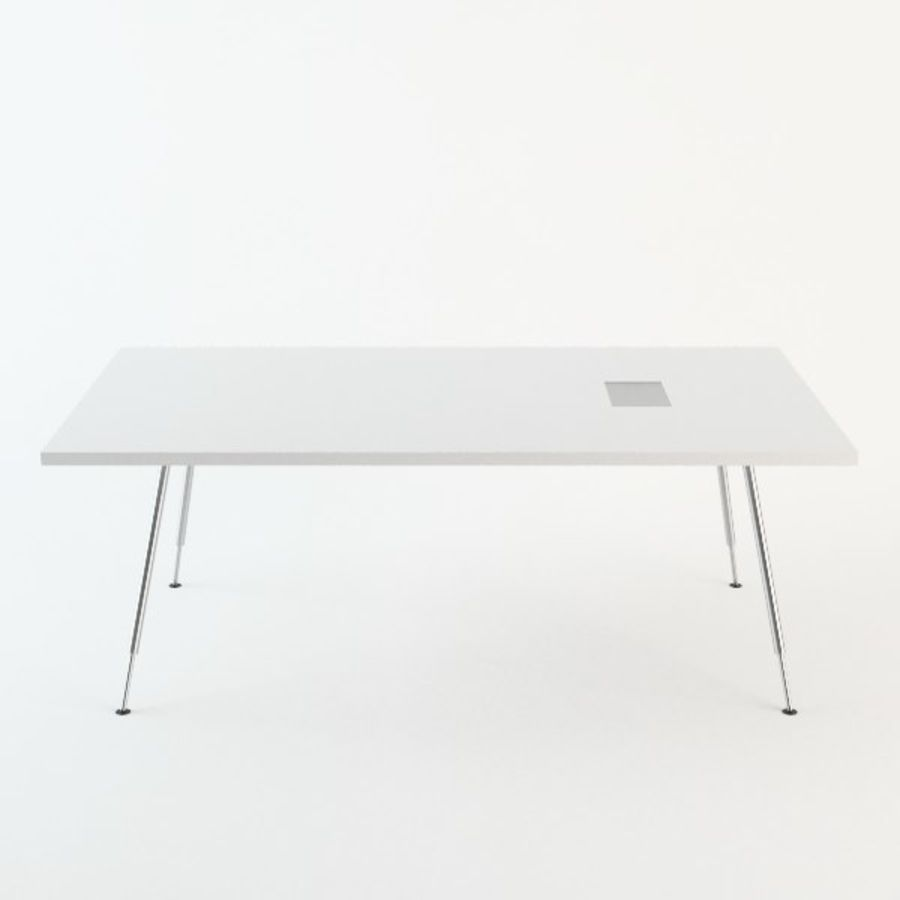 Ikea Galant Conference Table D Model Obj Max Fbx Ds FreeD - Ikea white conference table