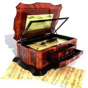 Musikbox 3d model