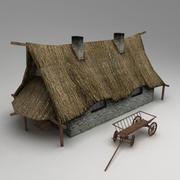 村屋2 3d model