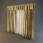 Curtain(03) 3d model