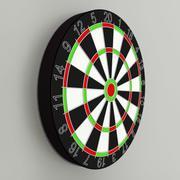 Darts board 3d model