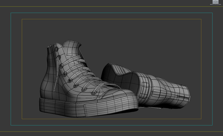 converse shoes 3ds max 7 text