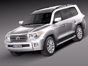 Toyota Landcruiser 2013 3d model