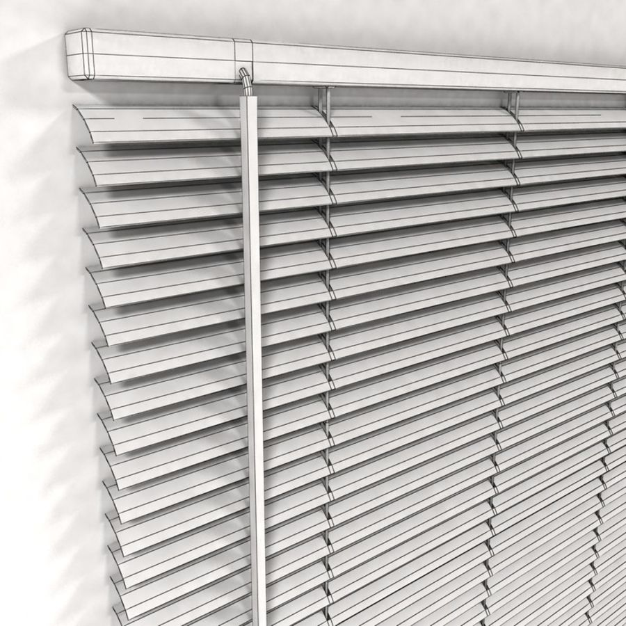 Venetian Blind royalty-free 3d model - Preview no. 4
