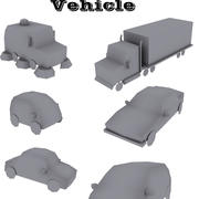 Low Poly Vehicle