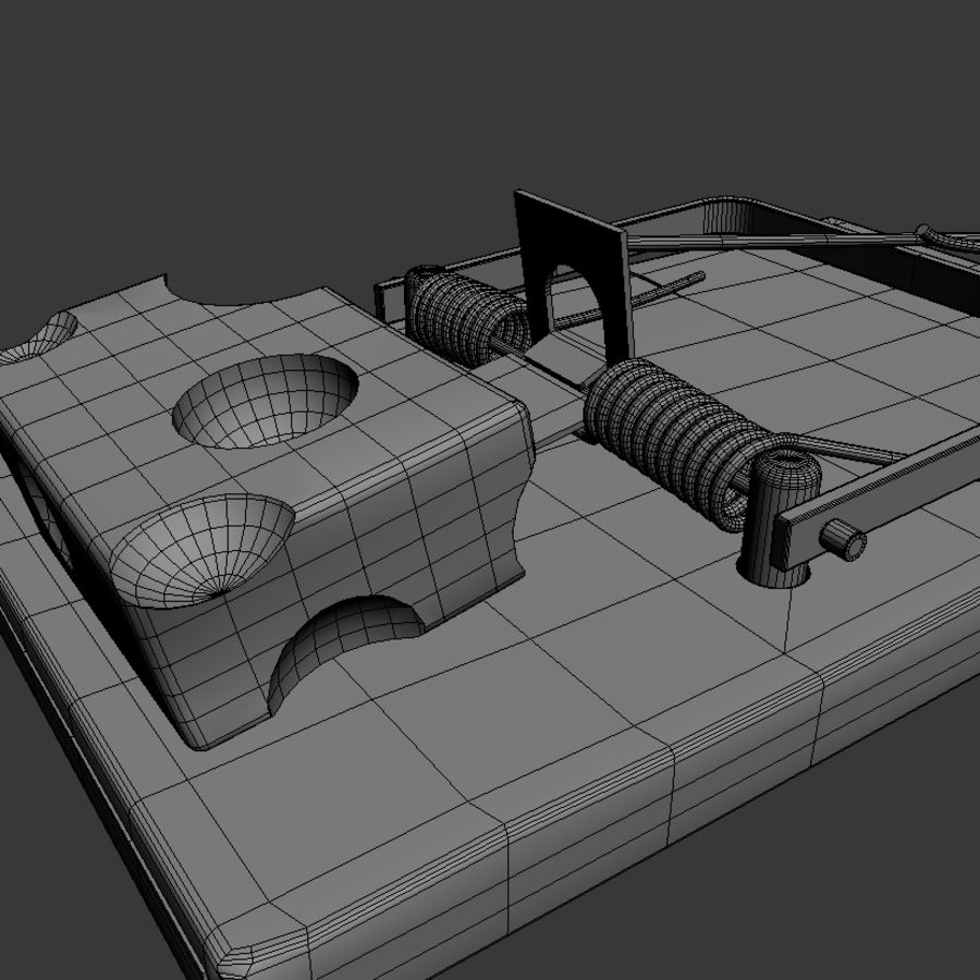 Rat Trap royalty-free 3d model - Preview no. 7