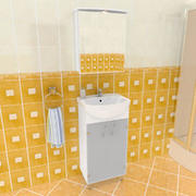 Набор для ванной комнаты NA 3d model