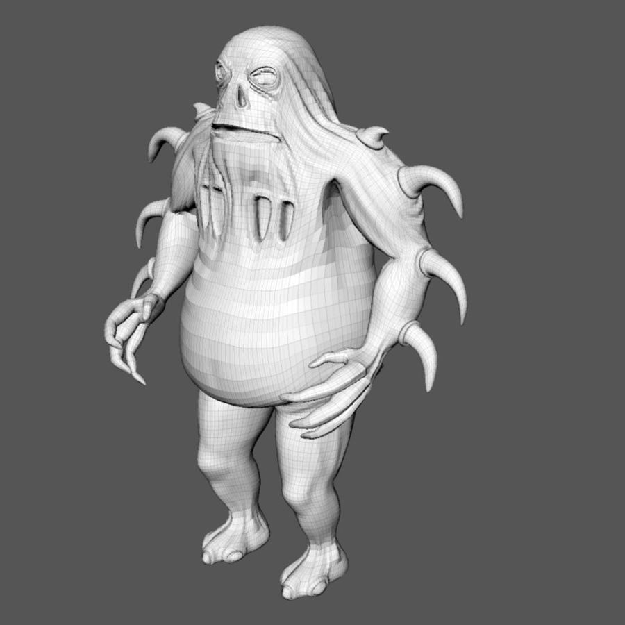 Woren lowres royalty-free 3d model - Preview no. 10