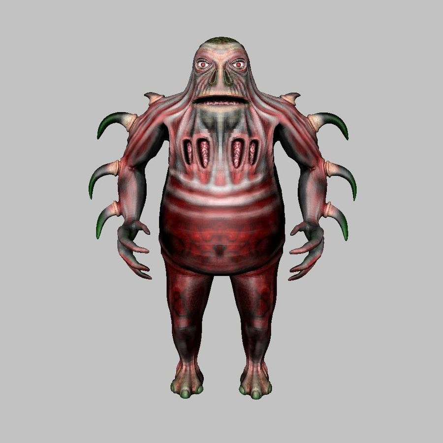 Woren lowres royalty-free 3d model - Preview no. 7
