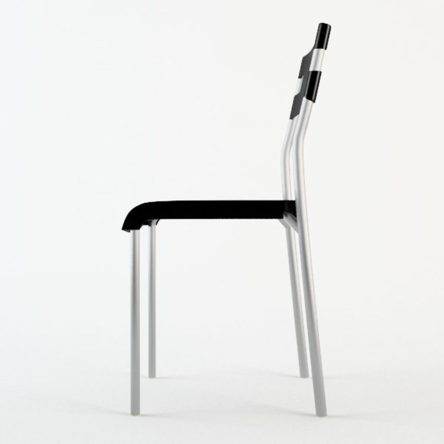 Ikea Laver chair royalty-free 3d model - Preview no. 2