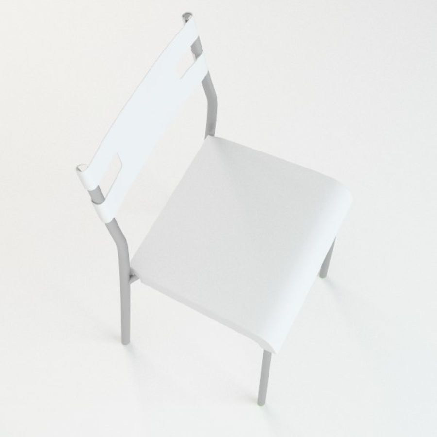 Ikea Laver chair royalty-free 3d model - Preview no. 6