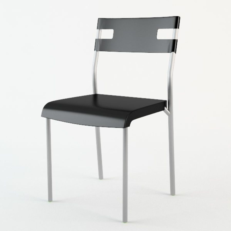 Ikea Laver chair royalty-free 3d model - Preview no. 1