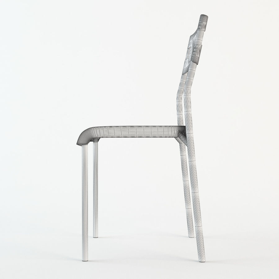 Ikea Laver chair royalty-free 3d model - Preview no. 8