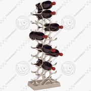 Eichholtz Winerack 27 Bottles with Bottles 3d model