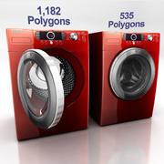 Washing Machine D 3d model