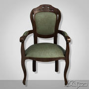 Chair Dark Wood 3d model