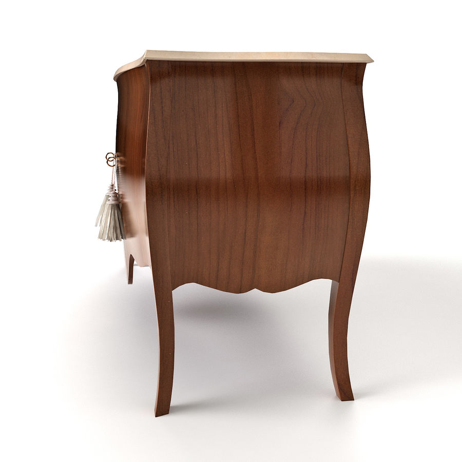 Sideboard Giusti Portos royalty-free 3d model - Preview no. 5