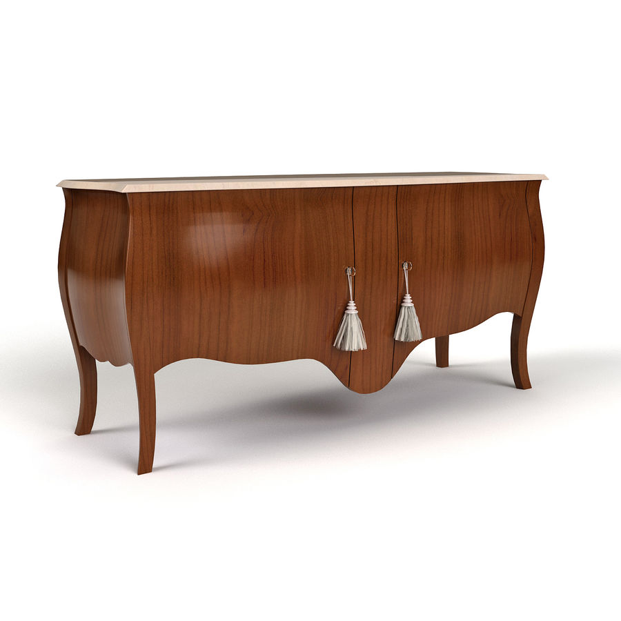 Sideboard Giusti Portos royalty-free 3d model - Preview no. 1