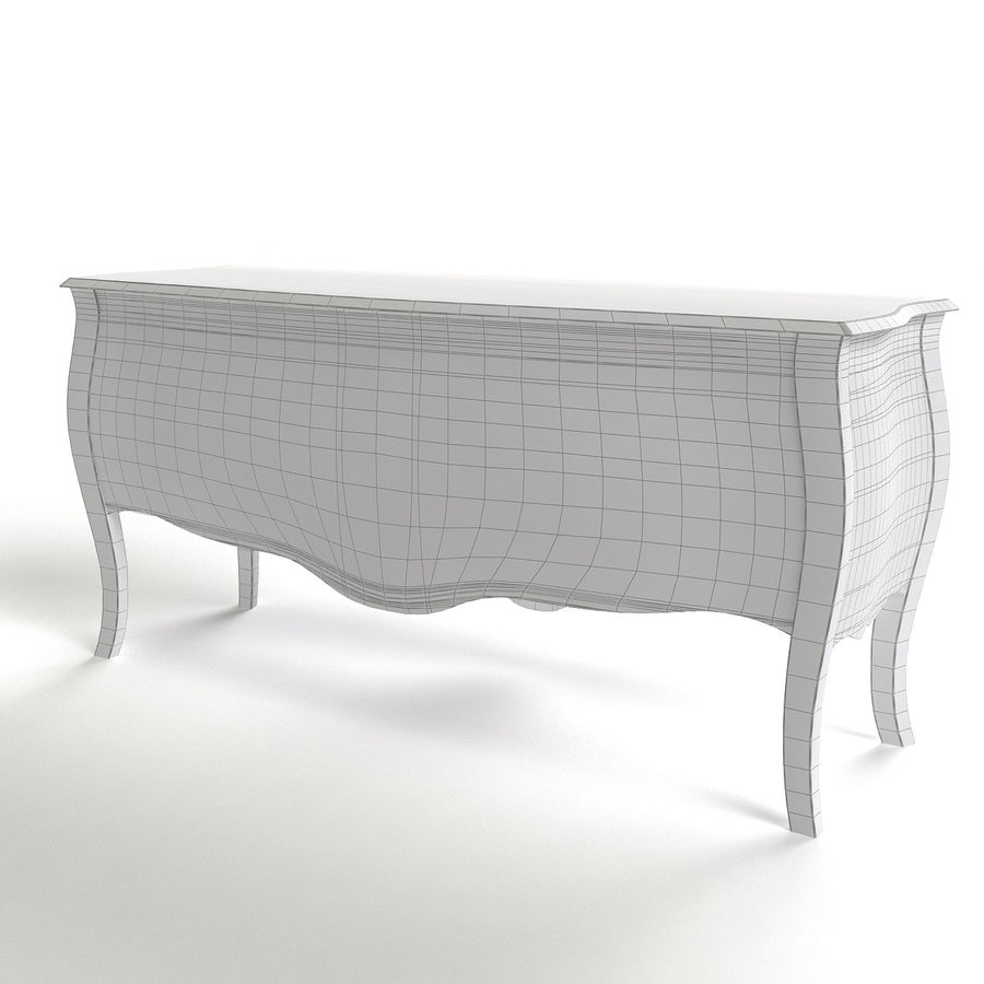 Sideboard Giusti Portos royalty-free 3d model - Preview no. 7