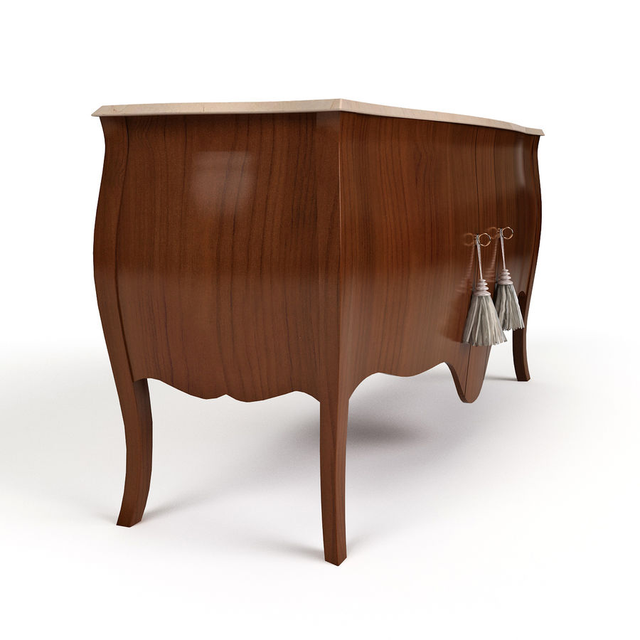 Sideboard Giusti Portos royalty-free 3d model - Preview no. 4