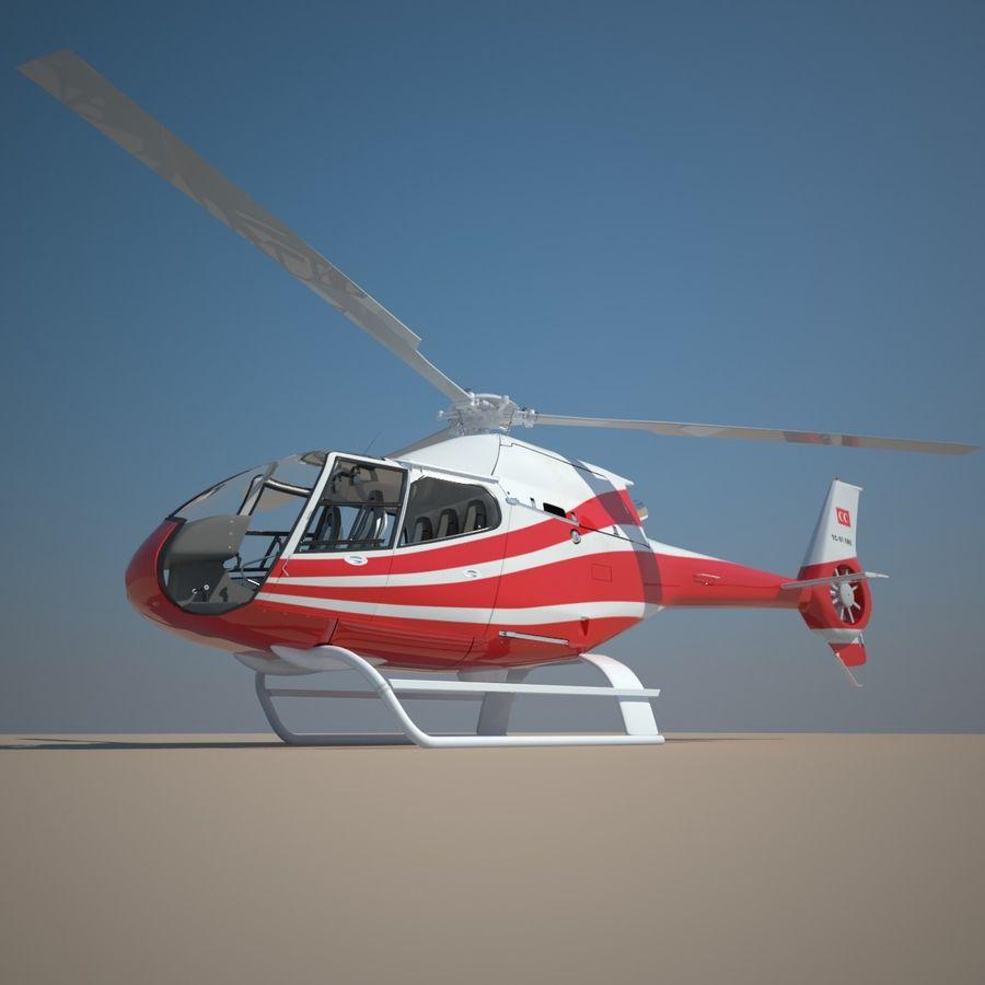 유로콥터 EC-120B royalty-free 3d model - Preview no. 8
