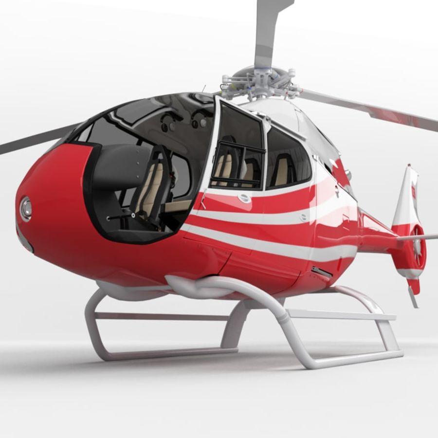 유로콥터 EC-120B royalty-free 3d model - Preview no. 1