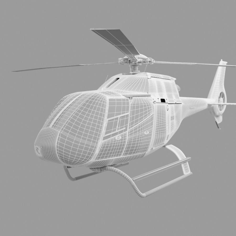 유로콥터 EC-120B royalty-free 3d model - Preview no. 10