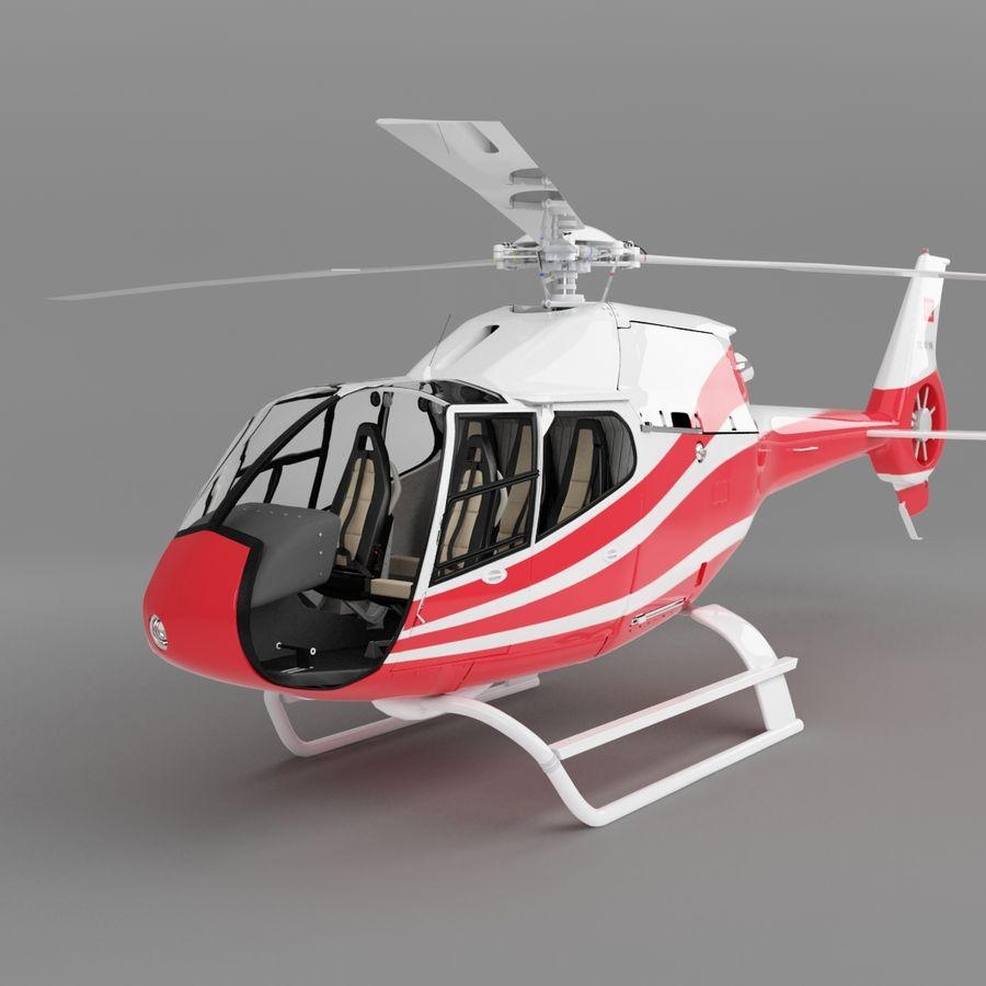 유로콥터 EC-120B royalty-free 3d model - Preview no. 2
