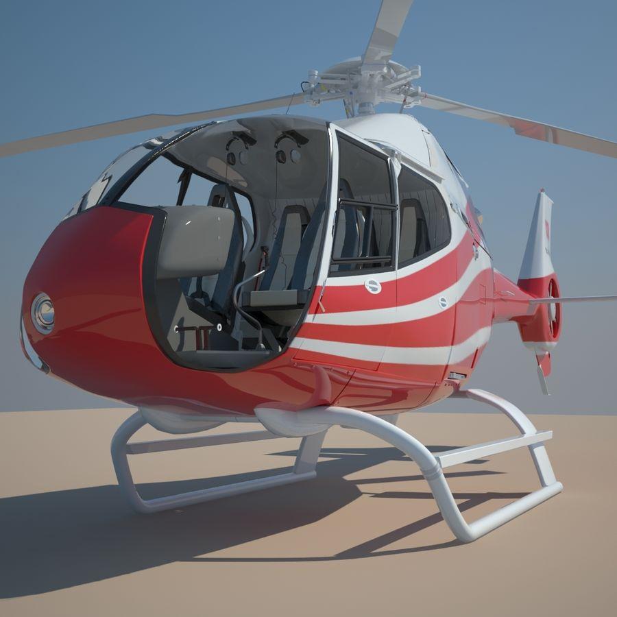 유로콥터 EC-120B royalty-free 3d model - Preview no. 9