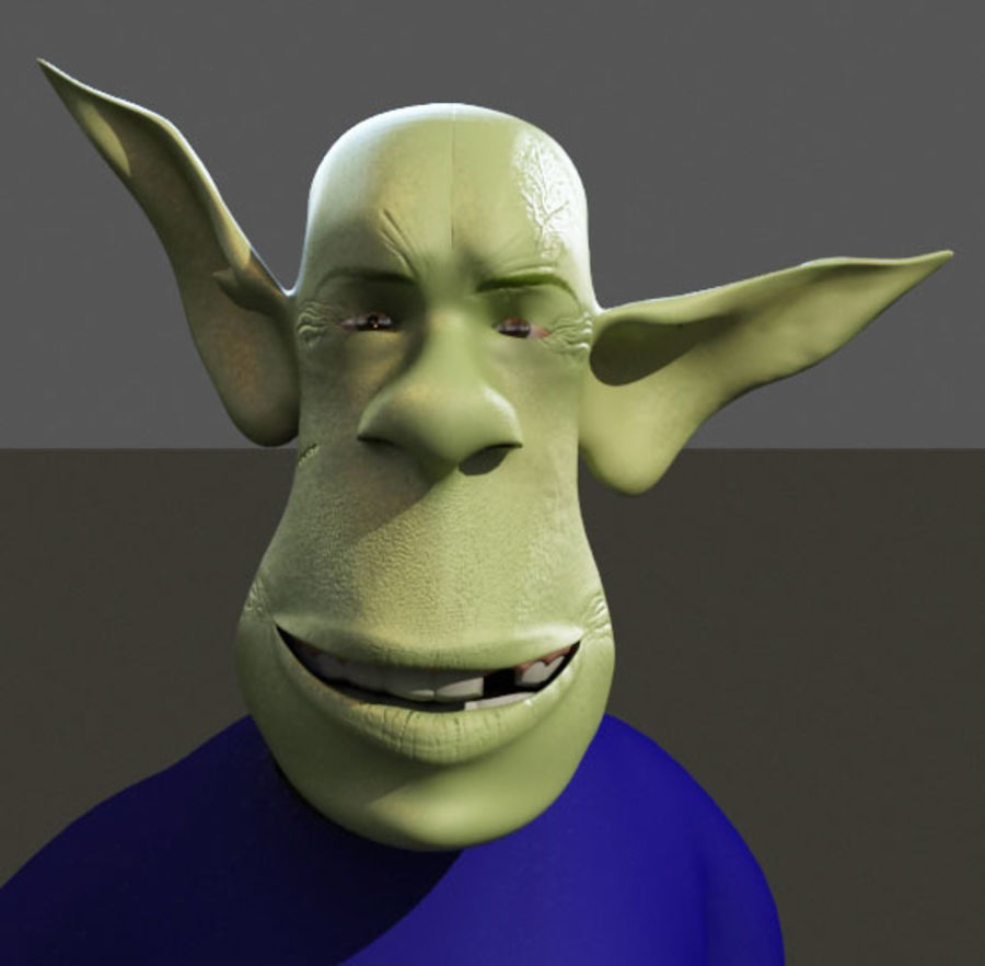 the alien royalty-free 3d model - Preview no. 10