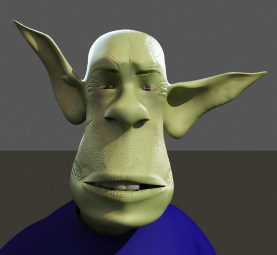 the alien royalty-free 3d model - Preview no. 13