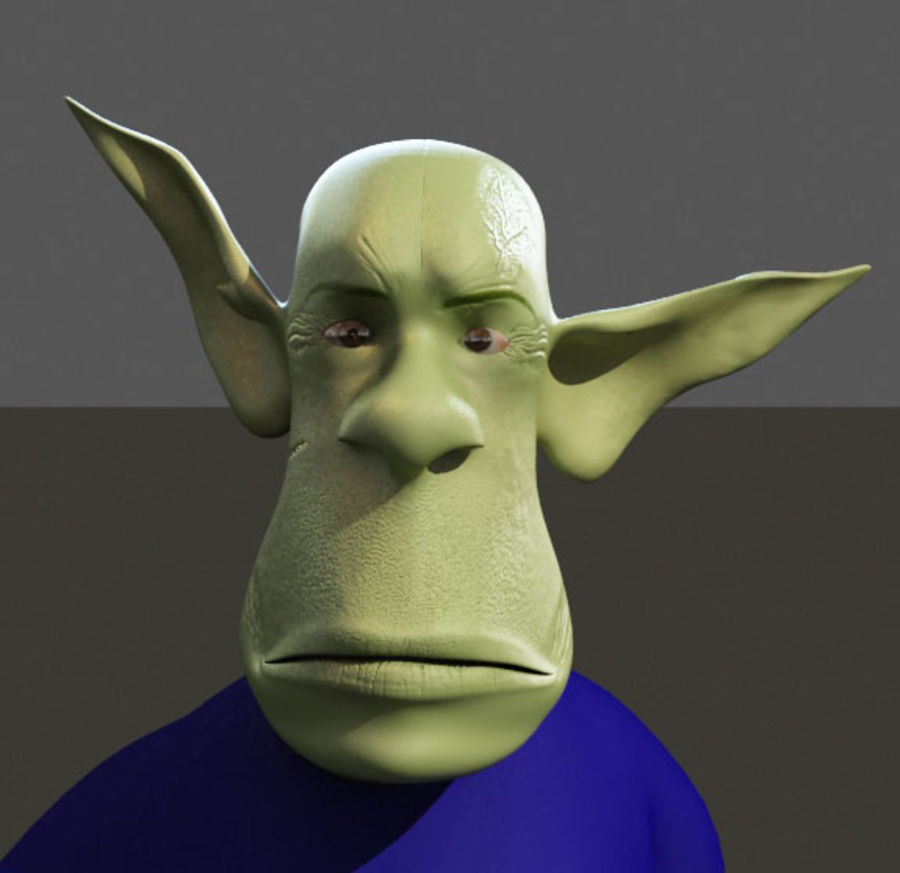 the alien royalty-free 3d model - Preview no. 11