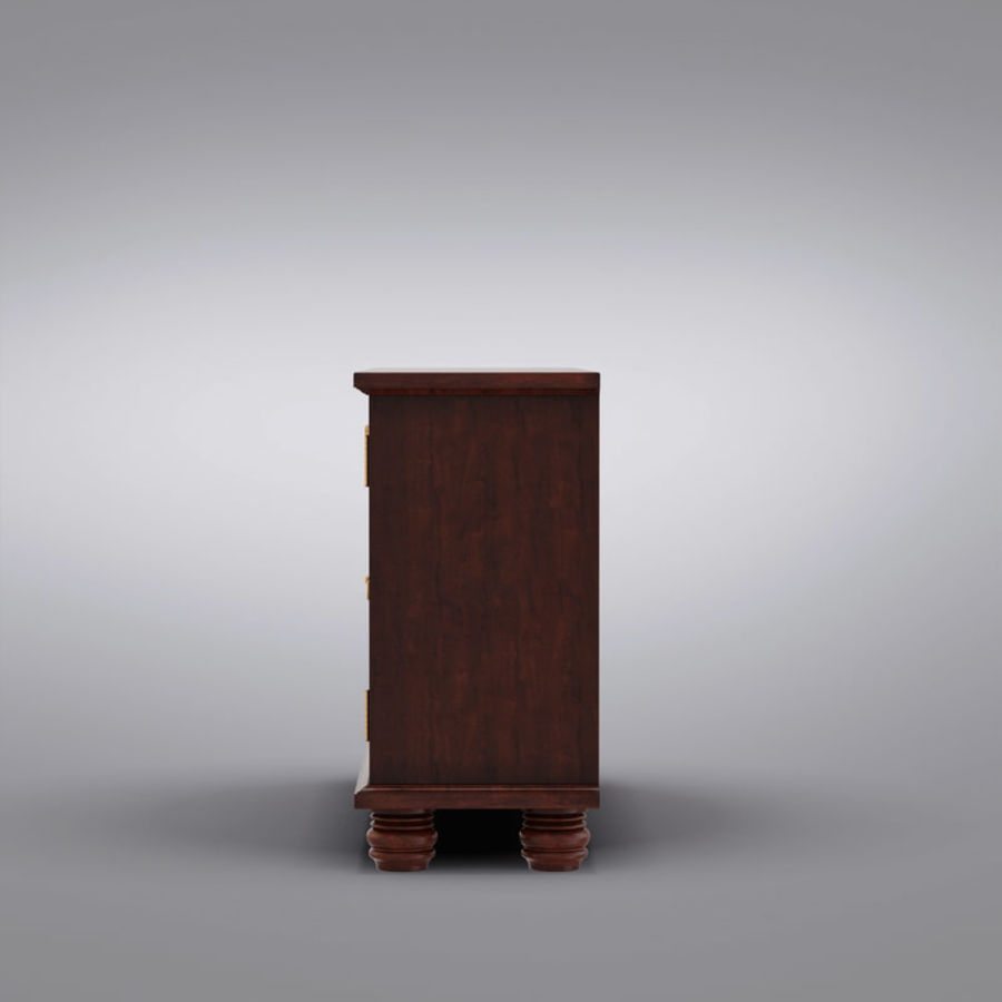 Pottery Barn - Andover Cabinet - Hayden Buffet royalty-free 3d model - Preview no. 9
