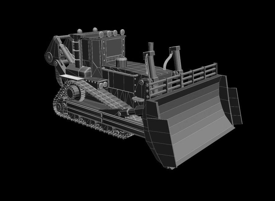 Bulldozer 2.0 royalty-free 3d model - Preview no. 9