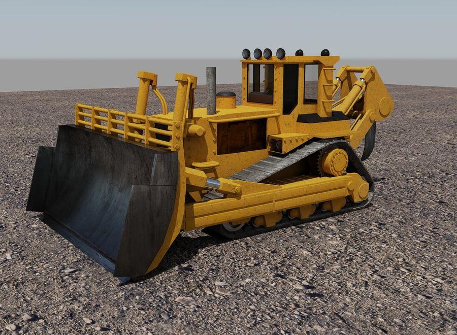 Bulldozer 2.0 royalty-free 3d model - Preview no. 1
