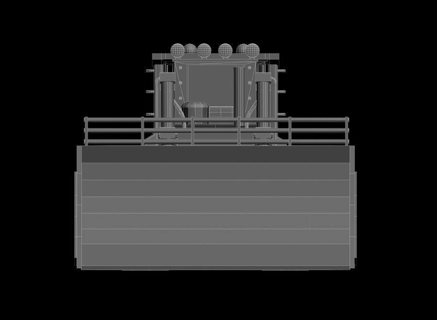 Bulldozer 2.0 royalty-free 3d model - Preview no. 14