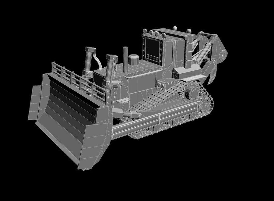 Bulldozer 2.0 royalty-free 3d model - Preview no. 10