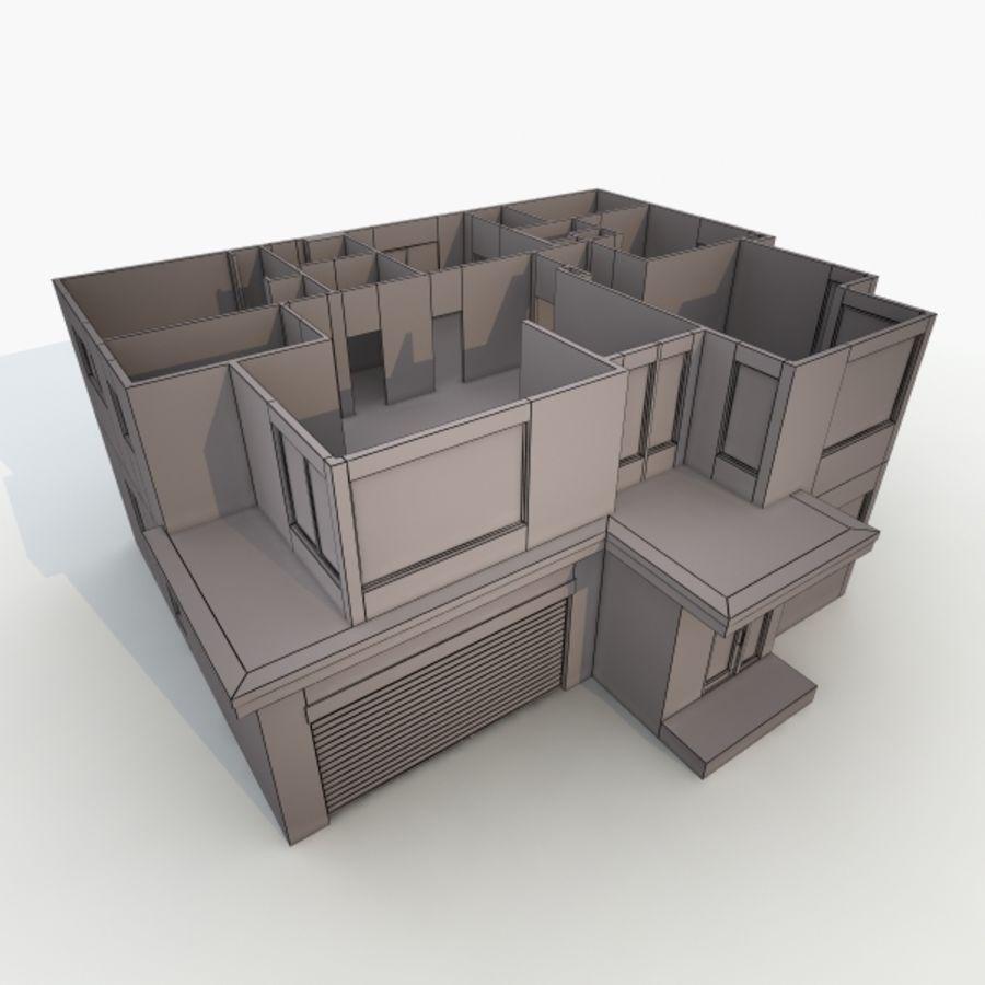 Casa royalty-free modelo 3d - Preview no. 10