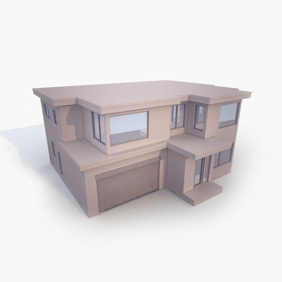 Casa royalty-free modelo 3d - Preview no. 5