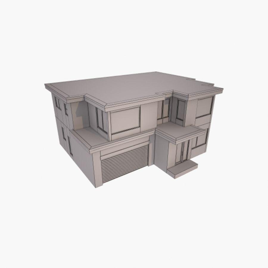 Casa royalty-free modelo 3d - Preview no. 9