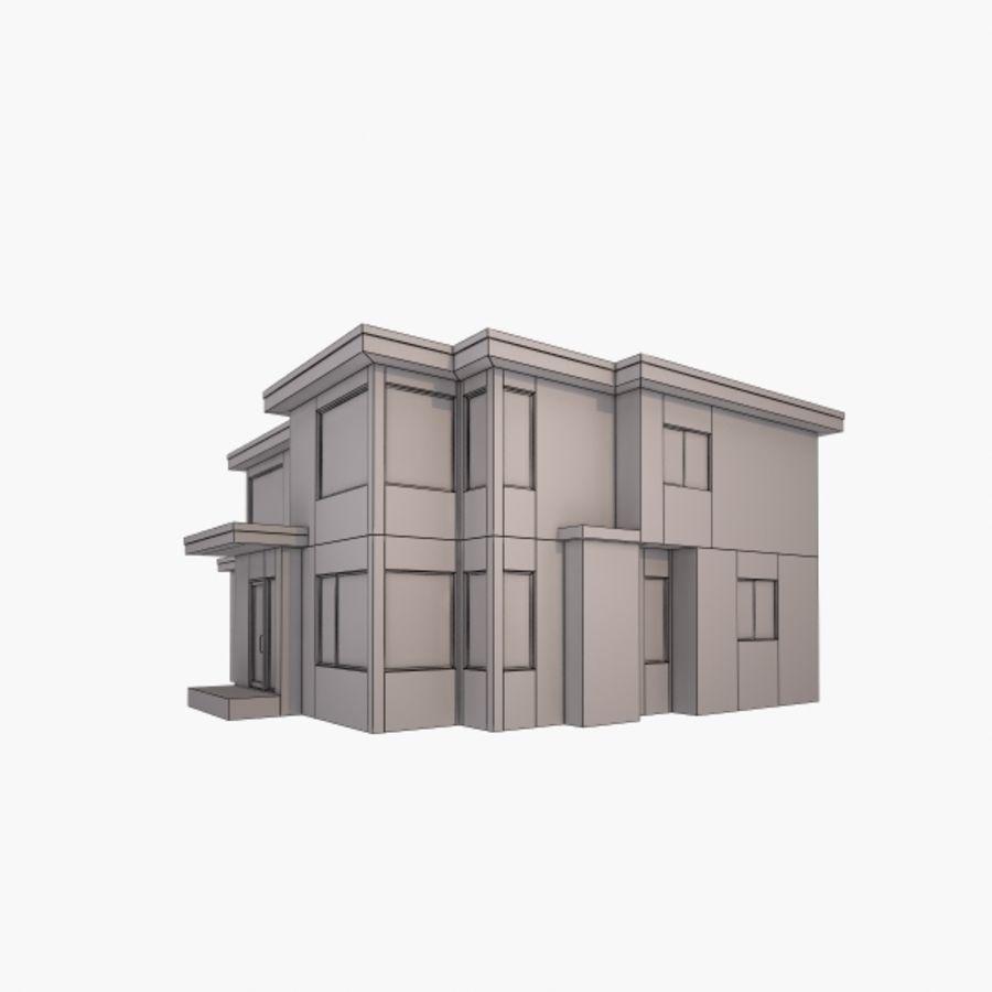 Casa royalty-free modelo 3d - Preview no. 8
