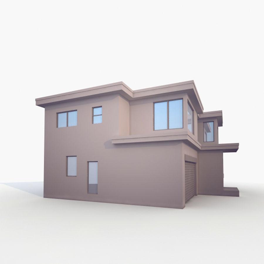 Casa royalty-free modelo 3d - Preview no. 2