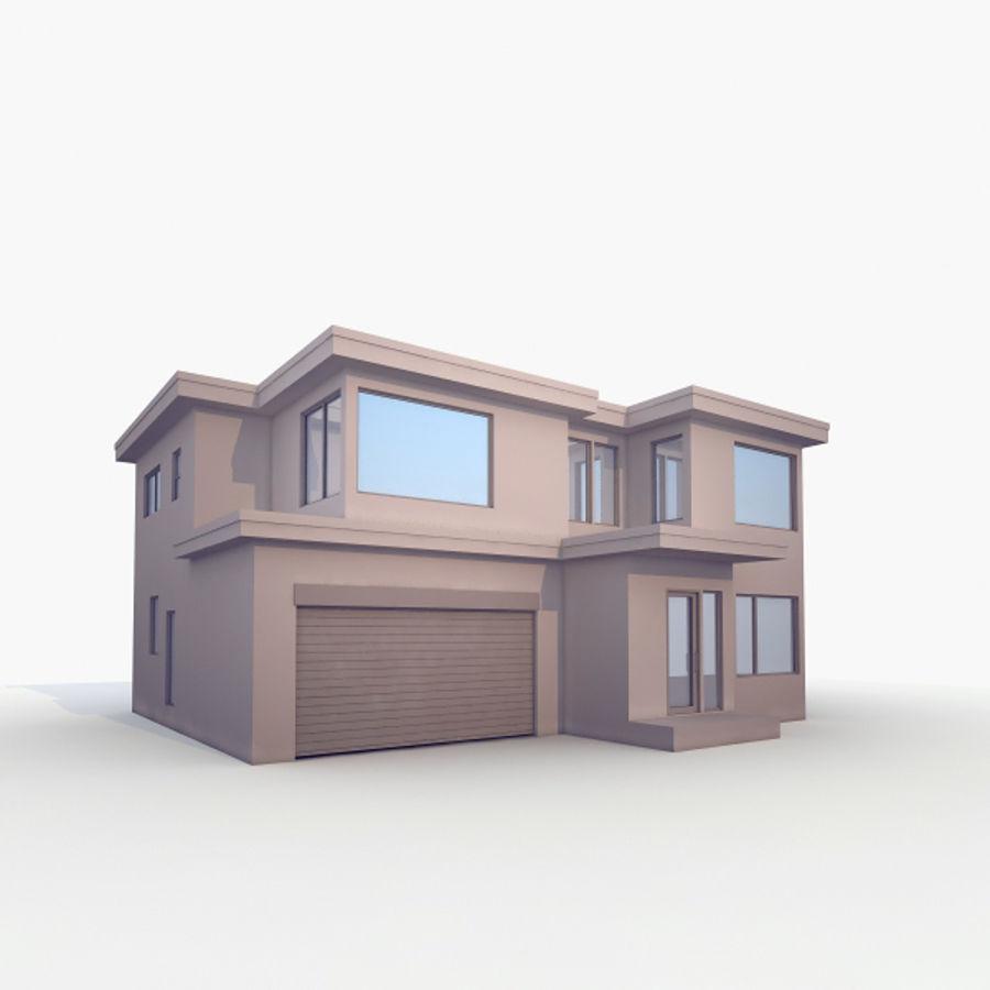 Casa royalty-free modelo 3d - Preview no. 1