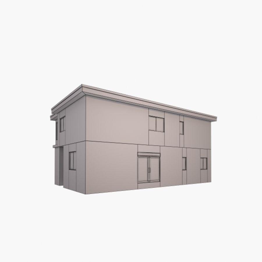 Casa royalty-free modelo 3d - Preview no. 7