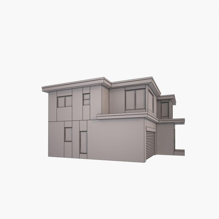 Casa royalty-free modelo 3d - Preview no. 6
