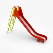 Big Slide With Ladder 3d model