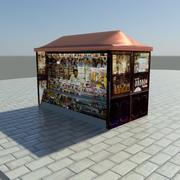 News Stand 1 3d model