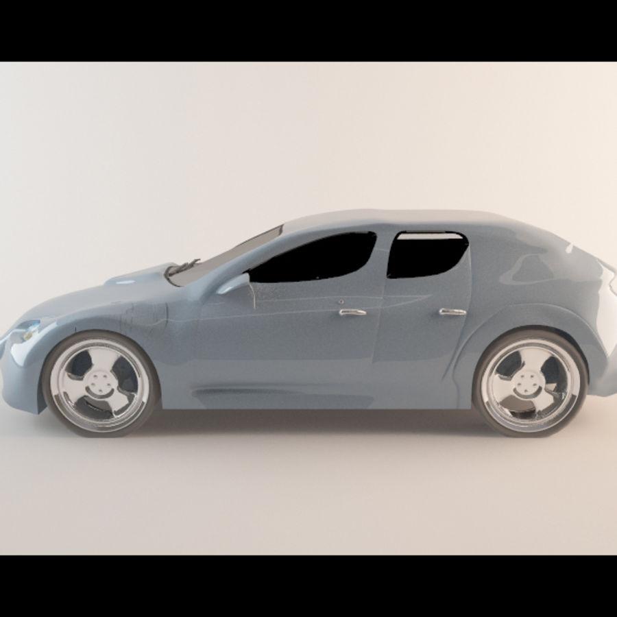 Автомобиль royalty-free 3d model - Preview no. 2