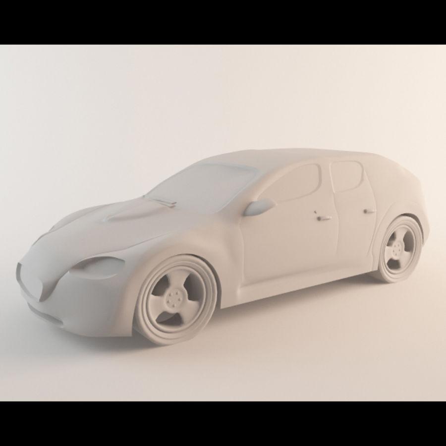Автомобиль royalty-free 3d model - Preview no. 5